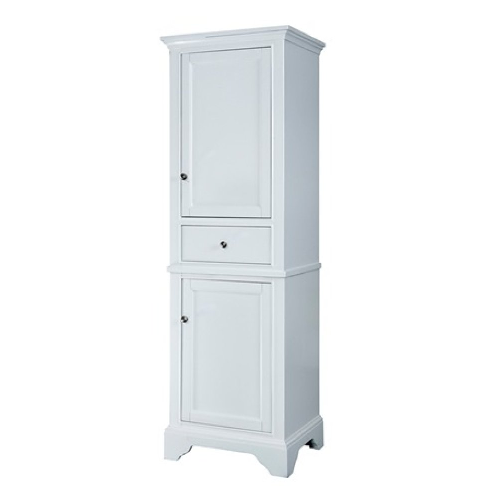 "Framingham 21"" Linen Tower - Polar White"