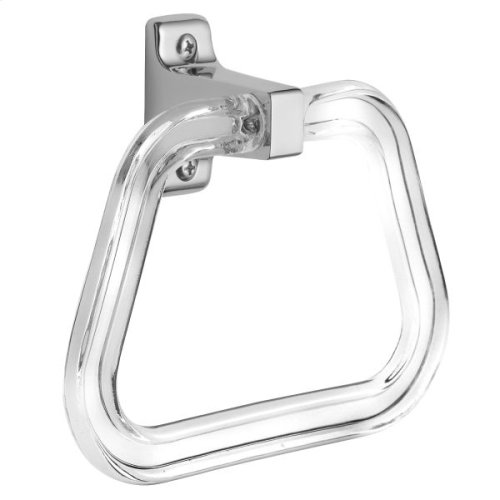 Economy chrome towel ring
