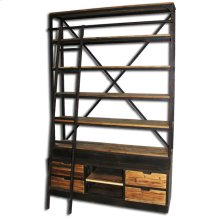 Bookcase with Ladder