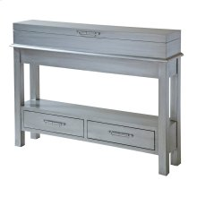 Messina 2-drawer Console Table With Flip-top Storage