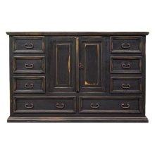 Stone Brown Mansion Dresser