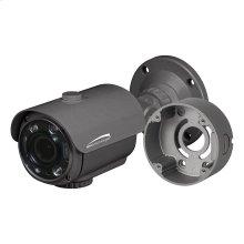 4MP Flexible Intensifier® Technology H.265 Bullet IP Camera with Junction Box 2.8-12mm motorized lens, Dark Gray Housing
