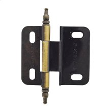 Non Self-closing, Adjustable 3/8 In (10 Mm) Inset Hinge
