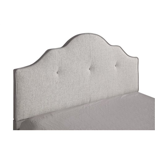 Emerald Home Anchor Bay Upholstered Bed Cream B134-08hbfbr-09