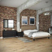 Bethany 4 Piece Queen Bedroom Set in Black Latte