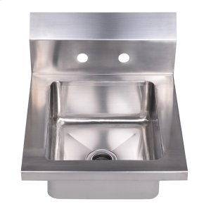 Noah's Collection Utility Series small, single bowl, drop-in hand sink. Product Image