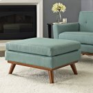 Engage Upholstered Fabric Ottoman in Laguna Product Image