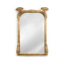 Art Nouveau Gilded Mirror
