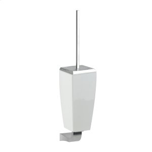 SPECIAL ORDER Wall-mounted toilet brush holder in ceramic Product Image
