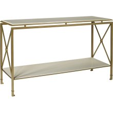 Montpelier Console Table Top and Shelf Only - Wood
