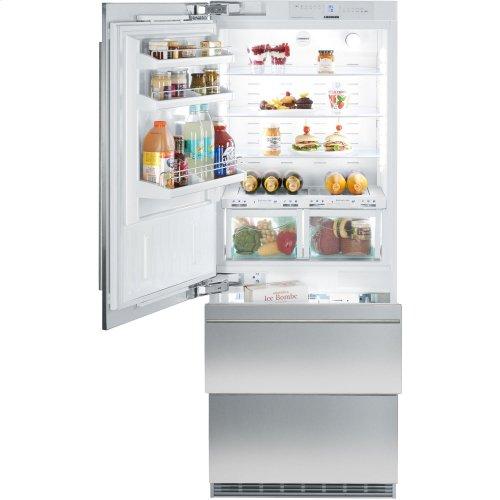 "30"" LH Integrated Bottom Mount Refrig/Freezer BIOFRESH Large Door"