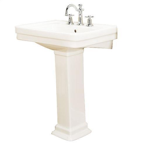 "Sussex 550 Pedestal Lavatory - 4"" Centerset / Bisque"