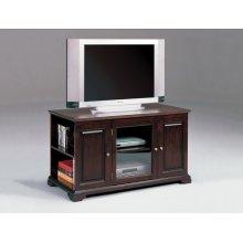 Crown Mark Harris Espresso TV Stand with Storage