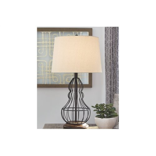 Metal Table Lamp (2/CN)