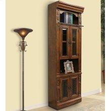 LEONARDO 32 in. Glass Door Cabinet