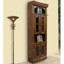LEONARDO 32 in. Glass Door Cabinet