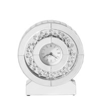 Modern 10.5 in. Contemporary table clock
