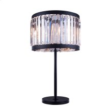 1203 Chelsea Collection Table Lamp Mocha Brown Finish