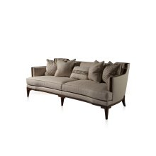 Nail Trim Callisto Sofa - Nail Trim, Exposed Legs