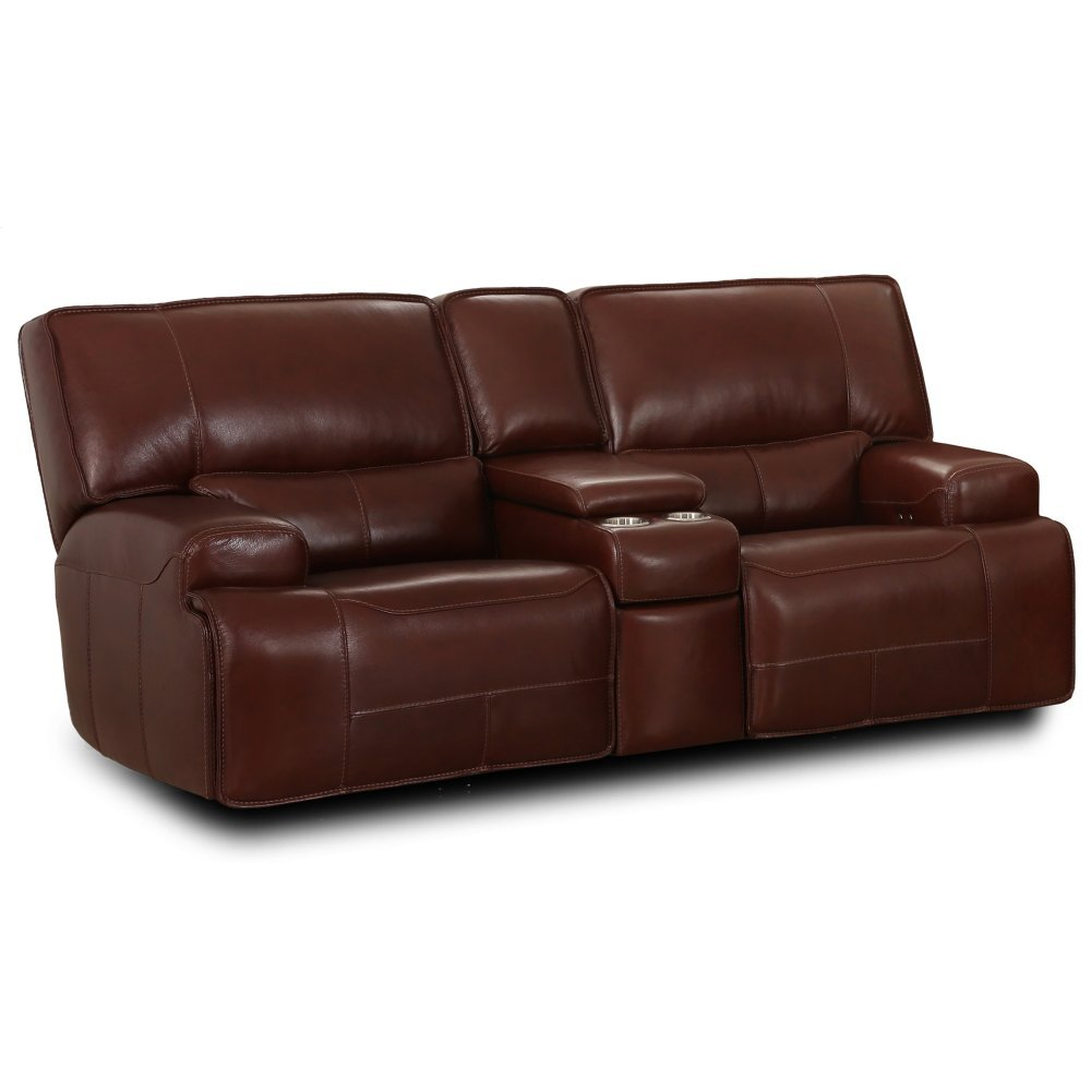 M079 Sect Denali Power Console Loveseat