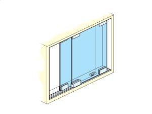 Sliding Glass Door Hardware for Showcases Product Image