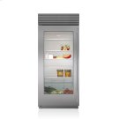 "36"" Classic Refrigerator with Glass Door Product Image"