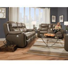 Power Reclining Loveseat with Power Headrest Upgrade (Loveseat w/ Console Shown Available to Order)