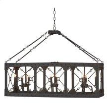 Urban chandelier rectangle