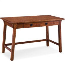 Mission Oak Wedge Corbel Laptop/Writing Desk with Center Drawer #82403