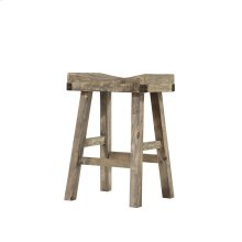 Emerald Home Valencia Saddle Stool-natural Reclaimed Pine Finish (2/ctn) D559-26