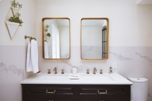 Widespread Lavatory Faucet With Low Spout - Less Handles Product Image