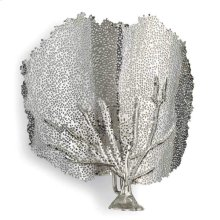 Sea Fan Sconce (nickel)