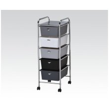 Storage Cart W/3 Drawers