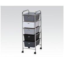 Storage Cart W/3 Drawers
