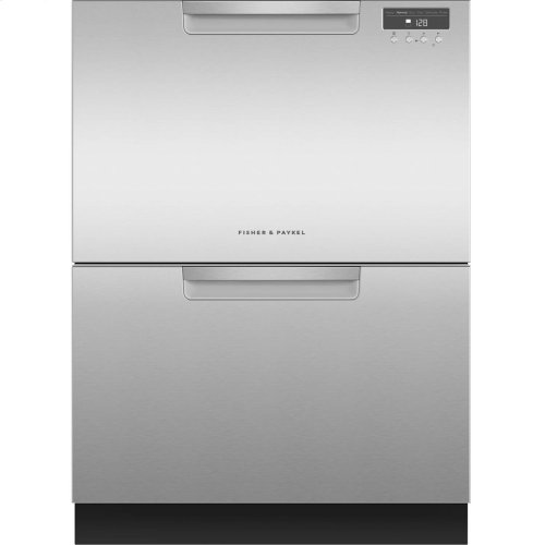 Double DishDrawer Dishwasher, 14 Place Settings