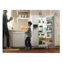 Amana® 22 cu. ft. Side-by-Side Refrigerator with Energy Efficiency