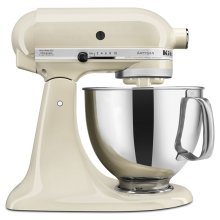 Artisan® Series 5 Quart Tilt-Head Stand Mixer - Almond Cream