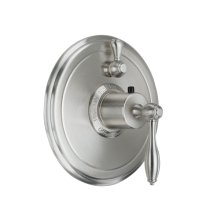 Mendocino StyleTherm ® Trim Only with Single Volume Control - Biscuit