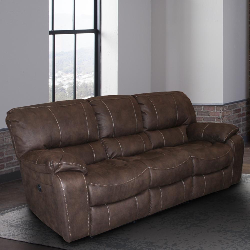 Jupiter Dark Kahlua Manual Sofa