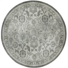 New Ross Ash Grey Round 8ft X 8ft