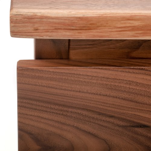 Hillsboro Bed (barnwood or Walnut) - Calking Bed (gray Barnwood)