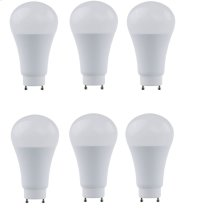 LED A21, 2700K, OMNI 300°, CRI80, ETL, 17W, 100W EQUIVALENT, 25000HRS, LM1600, DIMMABLE, 2 YEARS WARRANTY, INPUT VOLTAGE 120V 6 PACK