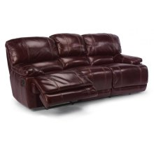 Belmont Leather Reclining Sofa