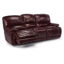 Belmont Leather Reclining Sofa