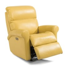 Davis Leather Power Recliner with Power Headrest