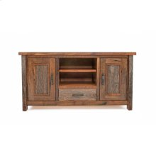 Copperhead 2 Door 1 Drawer TV Stand With Copper