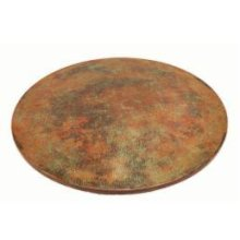 """60"""" Round Copper Turquoise Top"""