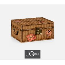 Travel Trunk Style Fitted Box
