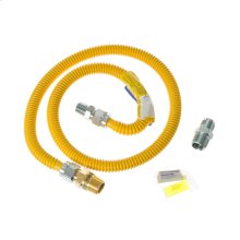 4 ft. Gas Range Connector Kit with Auto Shut Off