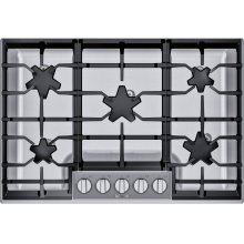 30-Inch Masterpiece® Pedestal Star® Burner Gas Cooktop, ExtraLow® Select